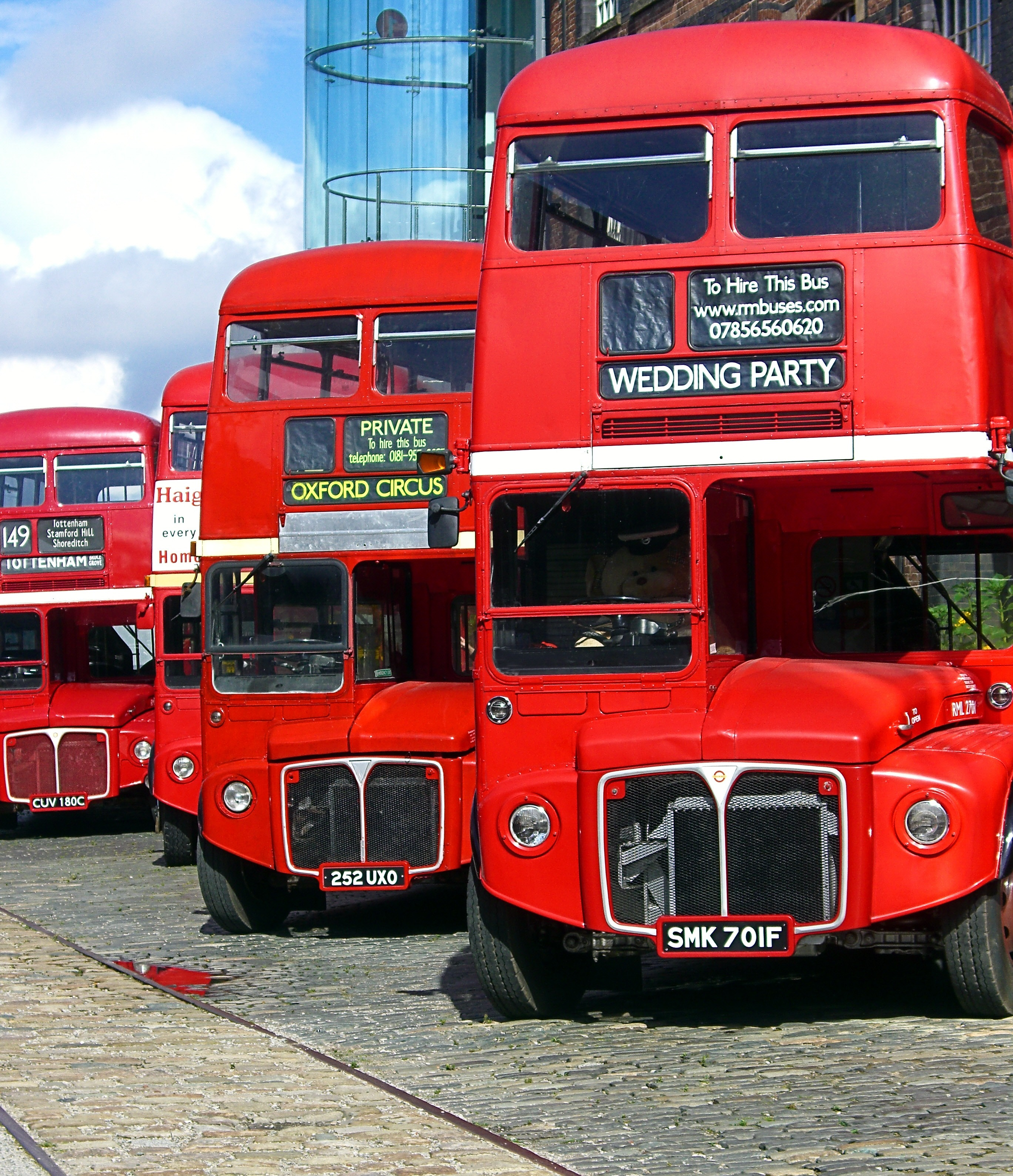 The retro bus fleet