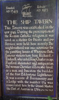 Ship Tavern (Holborn) Pub and Gin Palace