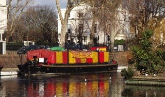 Puppet Barge in Little Venice