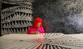<p>Yayoi Kusama - <a href='/journals/yoyoi-kusama'>Click here for more information</a></p>