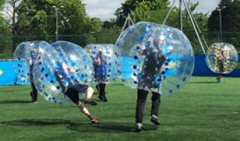 Barnet Bubble Football