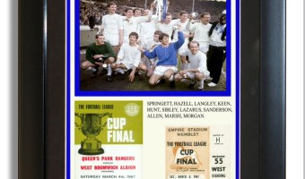 <p>Queens Park Rangers League Cup Win 1967 - <a href='/shop/qpr-framed-1967-league-cup-win'>Click here for more information</a></p>