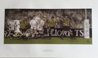 <p>England World Cup Rugby Win with Jonny Wilkinson - <a href='/shop/england-rugby-cup-win-'>Click here for more information</a></p>